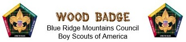 Wood Badge BRMC logo